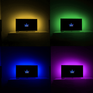 TV backlight RGBWW USB led strips