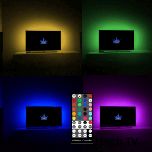 TV backlight RGBWW USB led strip set