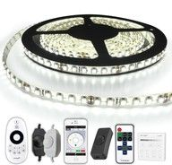 5 METER - 600 LEDS complete led strip set Koud Wit