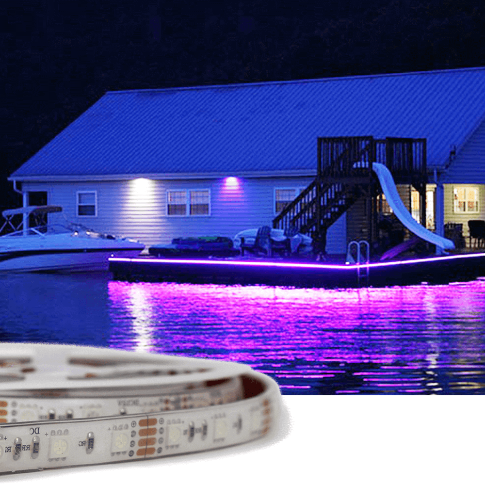 1 meter RGB led strip voor buiten losse strip