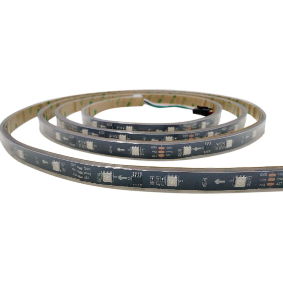 2,5 meter WS2811 digitale RGB led strip Basic - losse strip