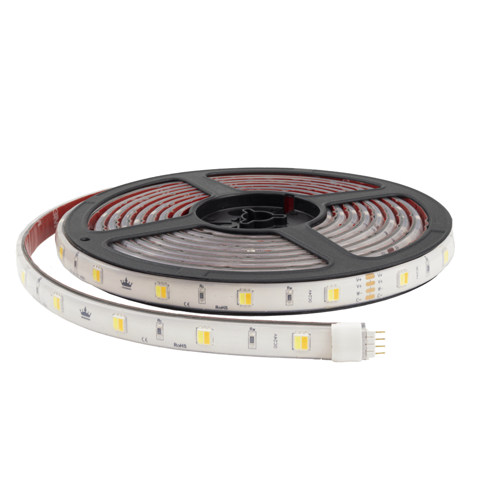 2 meter Dual White led strip complete set - Basic 120 leds