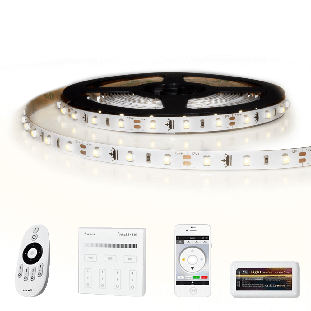 50 METER - 3000 LEDS complete led strip set Helder Wit