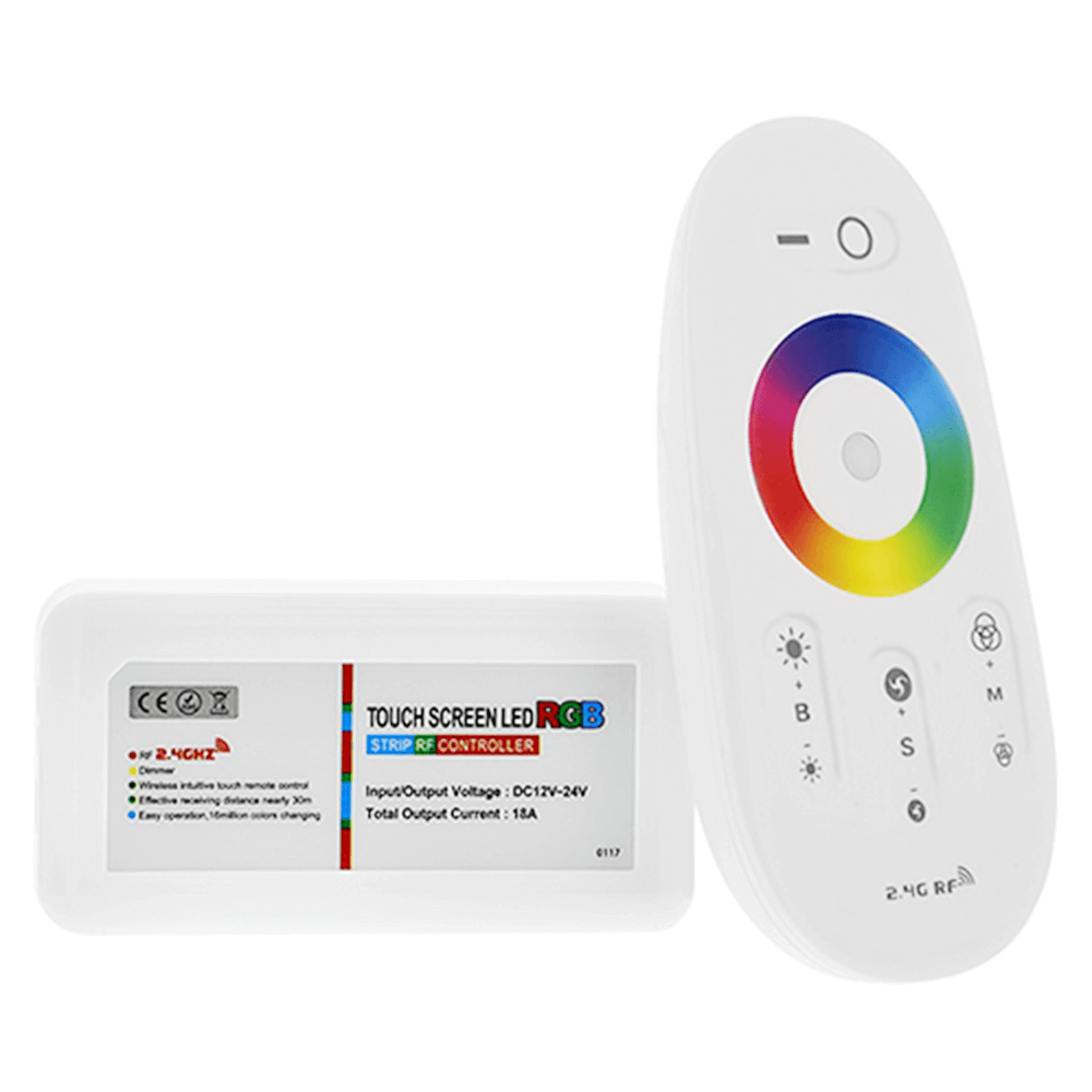 Luxe touch RF afstandsbediening RGB